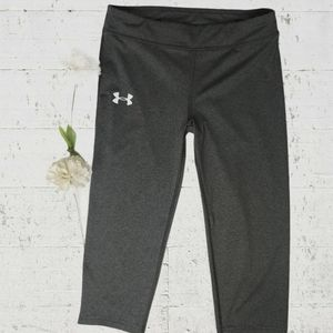 🌼3/$30 UnderArmour Grey Crops Size XS/Small
